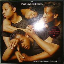 LP THE PASADENAS-To Whom It May Concern, NM, OIS con testi HOLLAND PRESS. 1988)