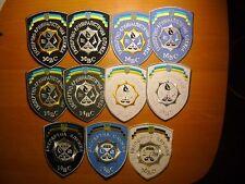 POLICE PATCH UKRAINE - CSI  unit. (lot 11 patches) ORIGINAL!