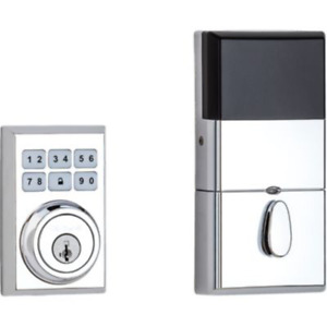 909 SmartCode® Contemporary Electronic Deadbolt featuring SmartKey Security™ in