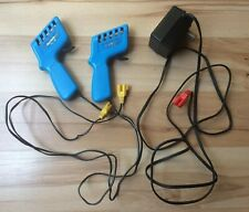 MICRO MACHINES Lot 2 Hand Controllers Slot Car Track Corkscrew Challenge Galoob