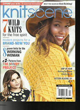 KNIT SCENE MAGAZINE,   SPRING, 2017   MEET THE QUEEN ARM KNITTING * 7 WILD KNITS