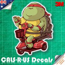 Famous FAT Series TMNT Raphael Ninja Turtles Sticker Car Luggage 3M Film 100mm