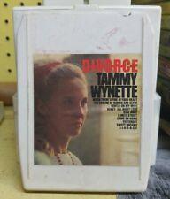 TAMMY WYNETTE - Divorce - 8 Track - Tested