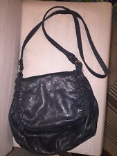 Lucky Brand Leather Cross-body Leather Saddle Bag Messenger Purse