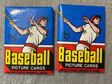 (2) 1977 Topps Baseball Packs