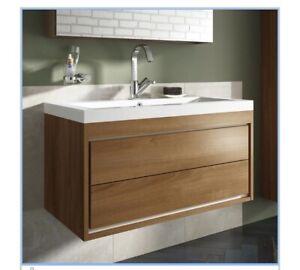 Wickes 2 Drawer Bathroom Unit