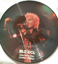 """Billy Idol (12"""" Limited Picture Disc) ☆ FREE FAST POST"""