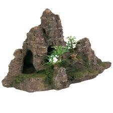 Trixie Rock Formation with Plants/Cave 22 cm Aquarium Plant Fish Tank Decoration