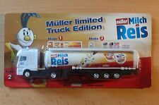MODEL TRUCK BEER LORRY BEER TRUCK MERCEDES BENZ ACTROS Müller Tanker Car HS 16
