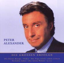 """PETER ALEXANDER """"NUR DAS BESTE"""" CD BEST OF 15 TITEL NEU"""