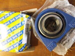 SNR 40mm SHORT BLOCK UCPAE208 BEARING WITH GRUB SCREW SHAFT LOCKING FREE UK POST