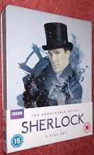 SHERLOCK - THE ABOMINABLE BRIDE - BBC Blu-ray STEELBOOK -  HMV UK exclusive