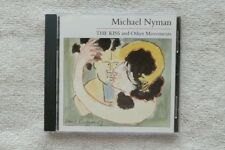 used Michael Nyman THE KISS AND THE OTHER MOVEMENTS 1985 CD