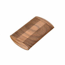 Natural Handmade Sandalwood Pocket Anti-Static Comb Beard Mustache Hair Brush JO