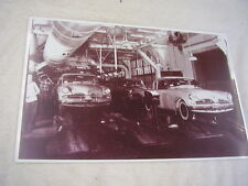 1953 STUDEBAKER  ON ASSEBLY LINE  11 X 17  PHOTO /  PICTURE