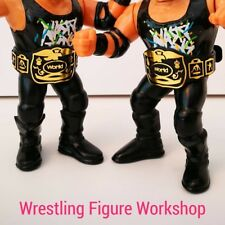 Belts for WWF WWE Hasbro Galoob  Wrestling Figures - 2xTag Retro Belts WFW