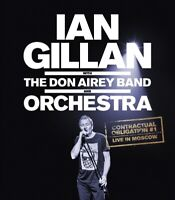IAN GILLAN - CONTRACTUAL OBLIGATION #1:LIVE IN MOSCOW   BLU-RAY NEW+