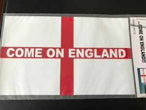 'Come On England' Car Magnet
