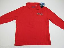 NCAA Maryland Terrapins Womens Ladies 3/4 Sleeve Classic Polo Cardinal Red XL