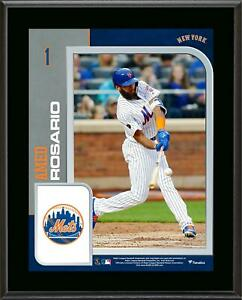 """Amed Rosario New York Mets 10.5"""" x 13"""" Sublimated Player Plaque - Fanatics"""