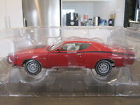 1/18 39498 ERTL AUTHENTICS 1971 DODGE CHARGER SUPER BEE RED *NEW*