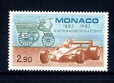 MONACO - 1983 - Centenario del motore a scoppio. Antica automobile monoposto