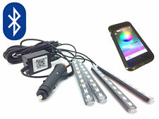 Fits Hyundai I10 - Bluetooth LED RGB App Lights Interior Footwell Flash Strobe