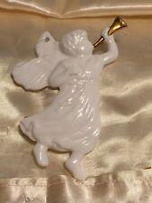 Vintage Bone China Dept 56 Heavenly Angel Chistmas Ornament