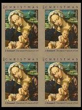 US 4815b Christmas Virgin &Child imperf NDC block MNH 2013