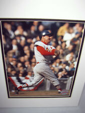 OFFICIAL MAJOR LEAGUE BASEBALL PHOTOGRAPH OF STAN MUSIAL AT BAT FOR THE CARDS