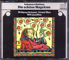 Wolfgang HOLZMAIR: BRAHMS Die schöne Magelone 2CD Will Quadflieg Gerard Wyss