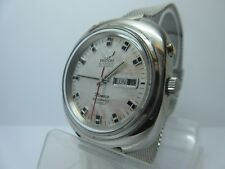 RICOH MONACO WATERPROFF SHOCKPROTECTED AUTOMATIC WATCH / 21 JEWELS / DAY - DATE