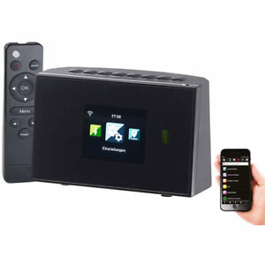 VR-Radio WLAN-HiFi-Empfänger (Tuner) für Internetradio und UKW, Fernbedienung