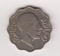 Iraq Coin 10 Fils 1931 KM98 King Faisal VF-XF Original Never Cleaned