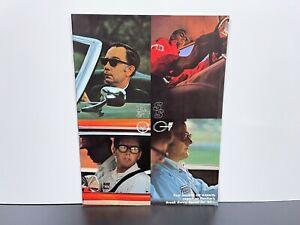 Vintage Original 1969 PONTIAC R&T SS MT Muscle Car Test SALES BROCHURE GTO Judge