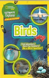 British Birds Ultimate Explorer Field Guides New Paperback Book Kids Children