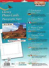 DECADRY oci-4724 GLOSSY Photo carta fotografica carta per stampante