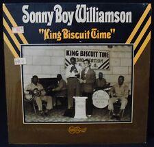 SONNY BOY WILLIAMSON-King Biscuit Time-NM Blues Album In Shrink-ARHOOLIE #2020