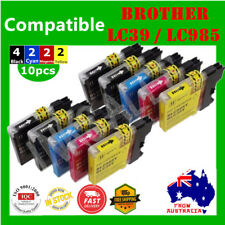 10X Ink Cartridge LC985 LC39 For Brother DCP J315 J515 MFC J220 J265W J410 J415W