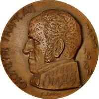 Jetons & Médailles, France, Medal, Michel Chasles, 1980, Santoni, SPL #550653