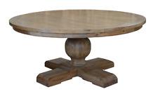 Derain Table French Provincial Hamptons Pedestal American Oak 1.50M Round Table