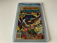 CHAMPIONS 15 CGC 9.8 WHITE PAGES DARKSTAR ORIGIN 2ND SWARM MARVEL COMICS 1977