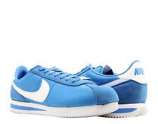 Nike Cortez Basic Nylon Signal Blue/White Men's Running Shoes 819720-402