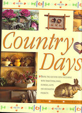 Country Days Book Food Flowers Gifts Decorating Projects Liz Trigg Tessa Evelegh