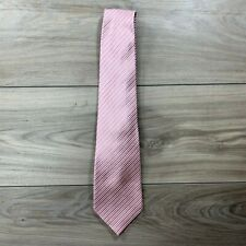 Donald J. Trump Signature Collection Pink Silk Hand Made Designer Men's Tie