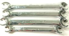 Snap On Metric 6pt Flare Nut Wrenches Lot 4 Rxfsm 1921b 1618b1517b1012b