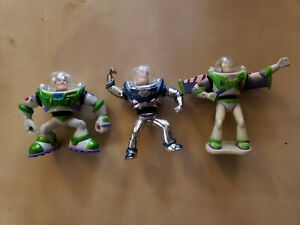 Small lot of 3inch buzzlightyear figures lot