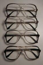 Vintage 4 Pc. Lot Elite John Grey Gradient 58/20 Men's Eyeglass Frame Nos #S55