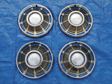 """PRETTY SET OF NOS 1969 CHEVY IMPALA BISCAYNE BELAIR 14"""" WHEELCOVERS HUBCAPS"""