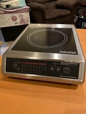 """Tarrison CI-18-1 Commercial Counter Top 13"""" Induction Range Cooktop, 110v"""